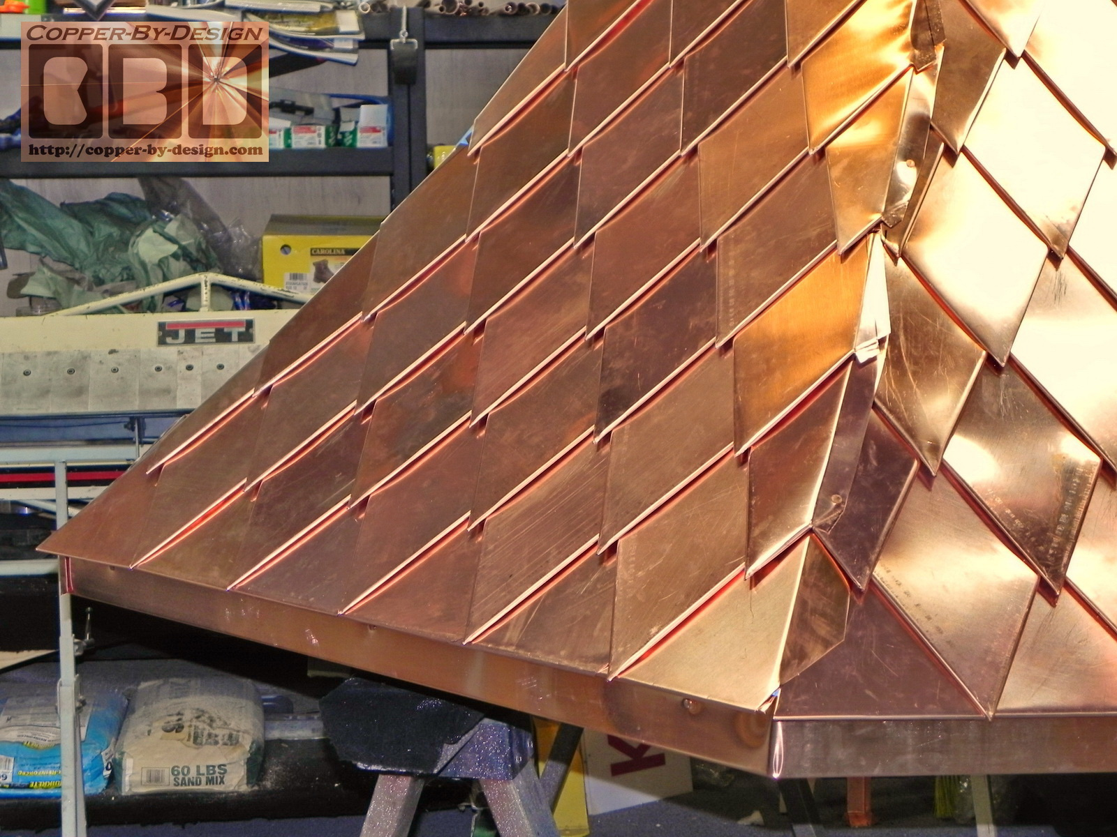 Cbd S Brown Umberger Custom Copper Covered Turret Work Page