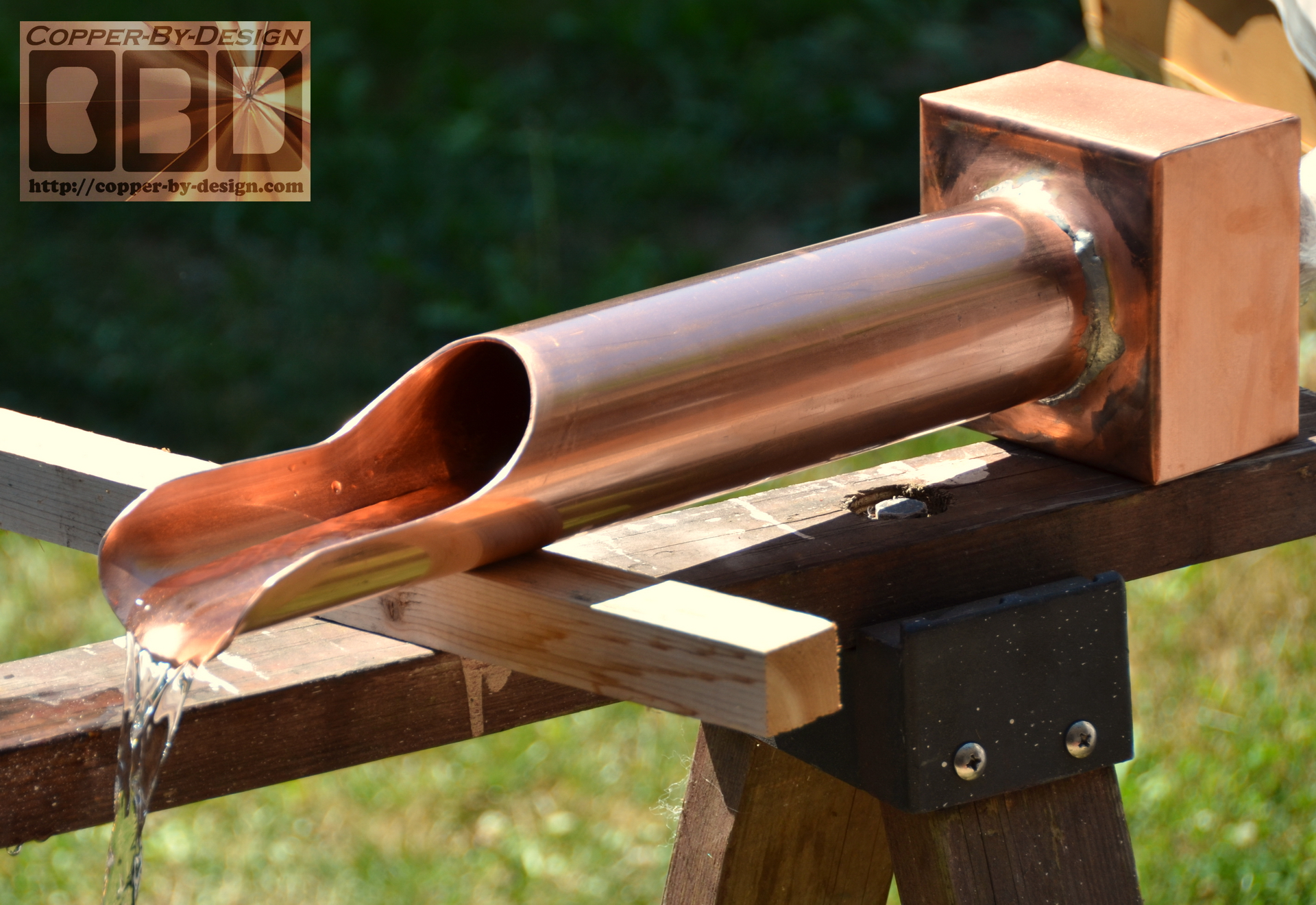 Cbd 39 S Custom Copper Water Features Page
