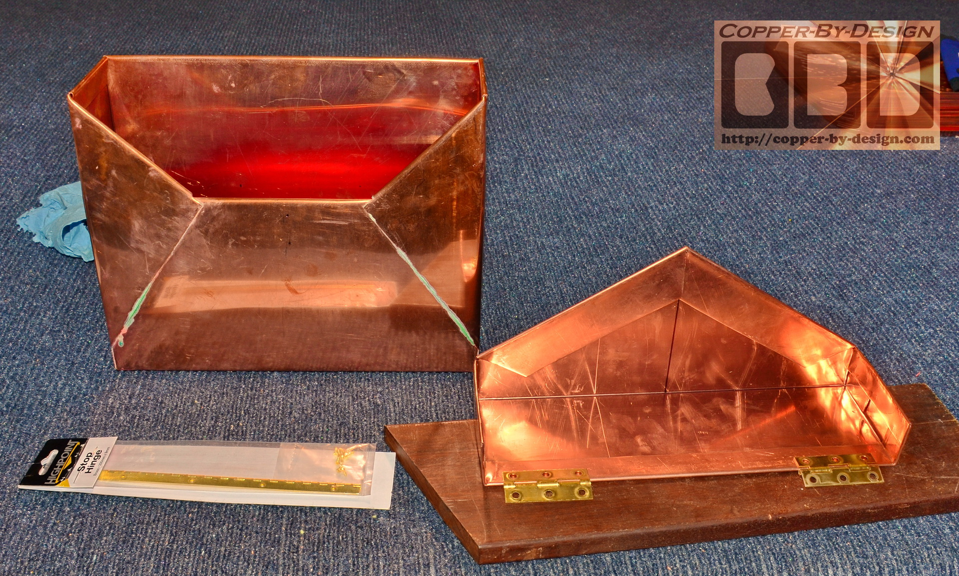 CBDs Custom Copper Mail Boxes Page