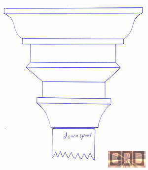 Cbd S Custom Downspout Funnels Leaderheads Or Scuppers