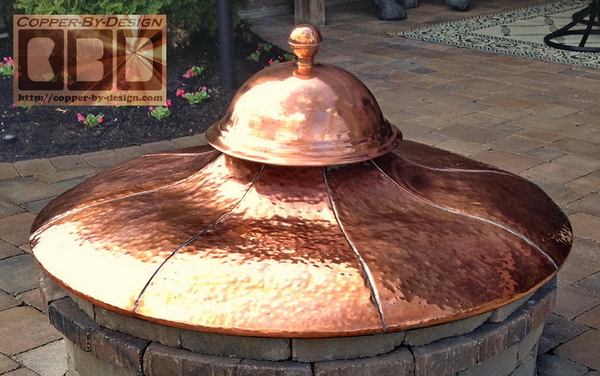 Pit Venting Vented Fire Pit Cover Page
