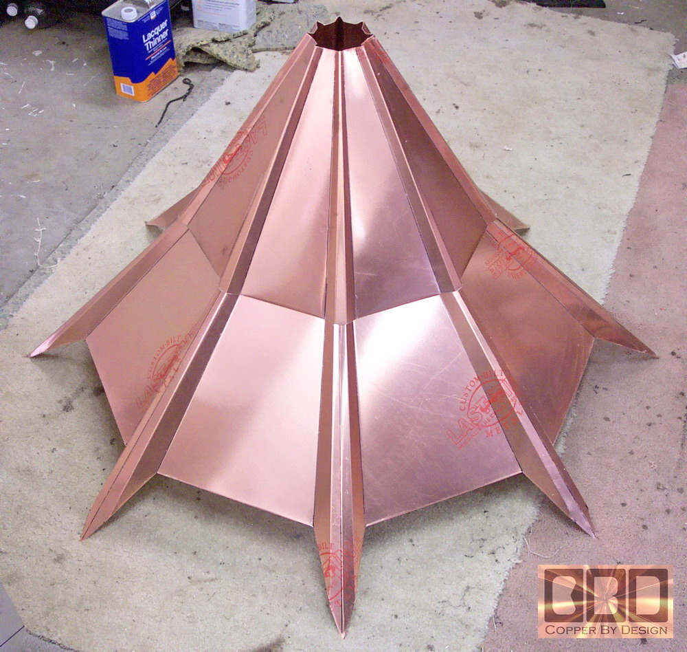 Cbd S Curry Copper Turret Roof Cap Page