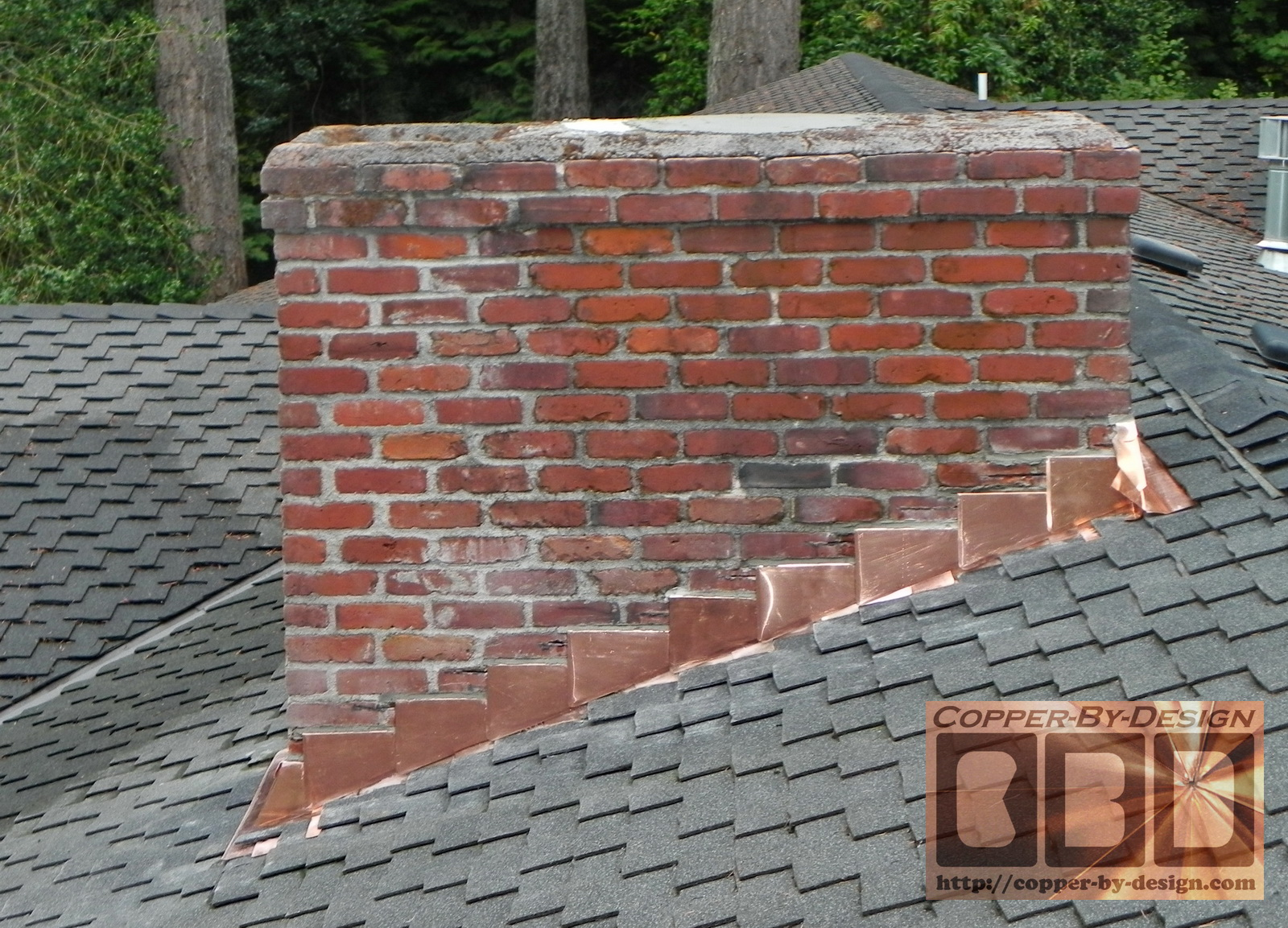 CBDu0027s Chimney Flashing Photopage